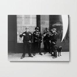 NYC Police Metal Print
