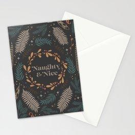 Naughty & Nice Stationery Cards