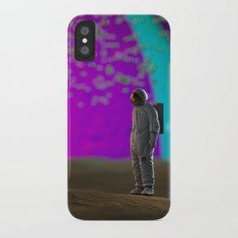 S P A C 3 D iPhone Case