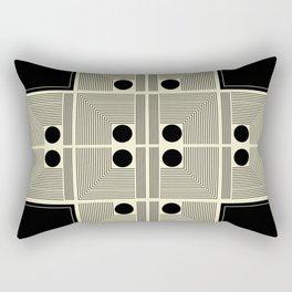 Vintage Indian Tantra/Mandala Pattern #2 Rectangular Pillow