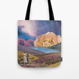 Floralscape Tote Bag