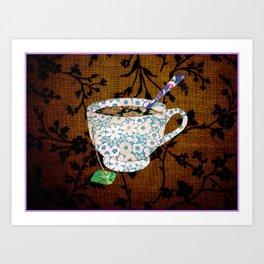 Spot of Tea? Art Print