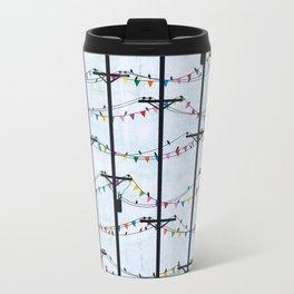Telephone Poles - FLAGS Travel Mug