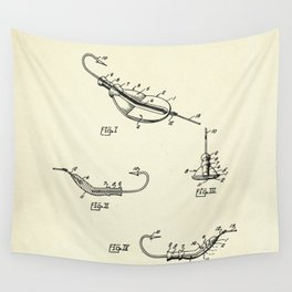 Fishing Lure-1964 Wall Tapestry