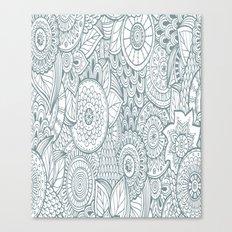 Pattern Art Work Canvas Print