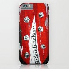 Rickenbacker Headstock Guitar Art Acrylic Painting iPhone 6 Slim Case