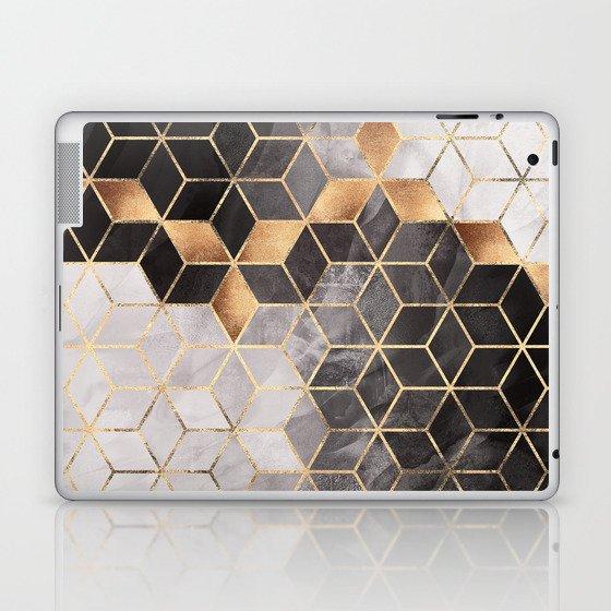 Smoky Cubes Laptop & iPad Skin
