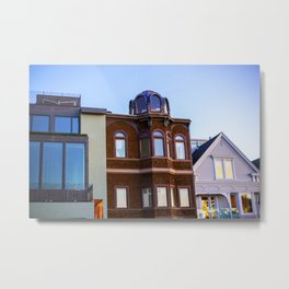 San Francisco houses 2016 Metal Print