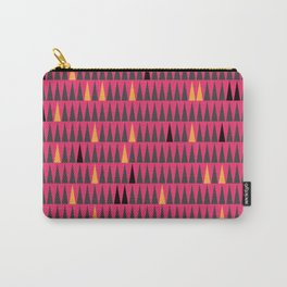 Pink and Orange Squibbles Carry-All Pouch