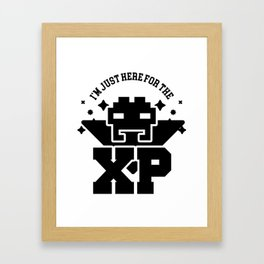 I'm Just Here For The XP Framed Art Print