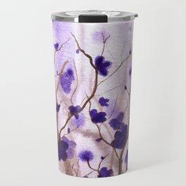 In the Purple Feild Travel Mug