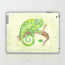 Swirly Chameleon Laptop & iPad Skin