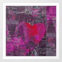 passion Art Prints featuring Passion    by LebensART