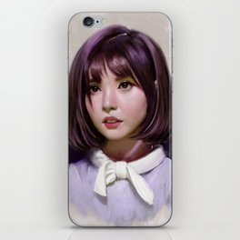 Portait of Eunha iPhone Skin