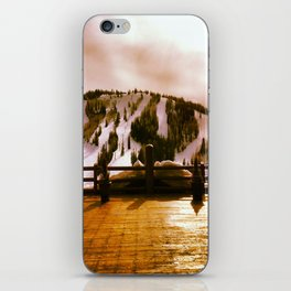 Light in the Mountains iPhone Skin
