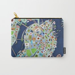 city map Carry-All Pouch