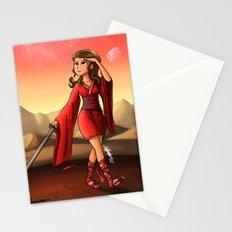 Mars Princess Stationery Cards