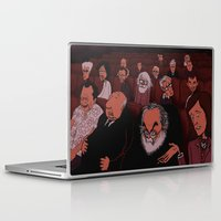 kubrick Laptop & iPad Skins featuring At The Movies by Phil McAndrew