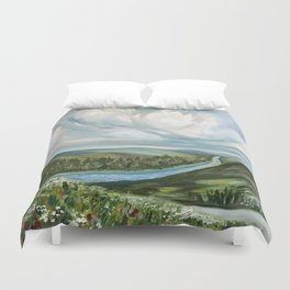 Tennessee River Duvet Cover