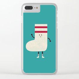 A Sock With Socks Clear iPhone Case