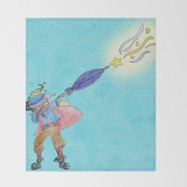 Abraca-DAB-ra Throw Blanket