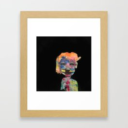 Can't wait to get to know you Framed Art Print