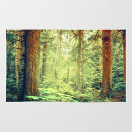 Morning Trees Rug