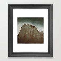 New Mexico Shipwreck Framed Art Print