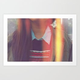Collar-ful Art Print