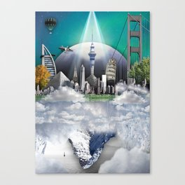TOMORROW WORLD Canvas Print
