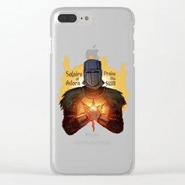 Praise the sun - Solaire Clear iPhone Case
