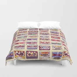 Nobody's records Duvet Cover