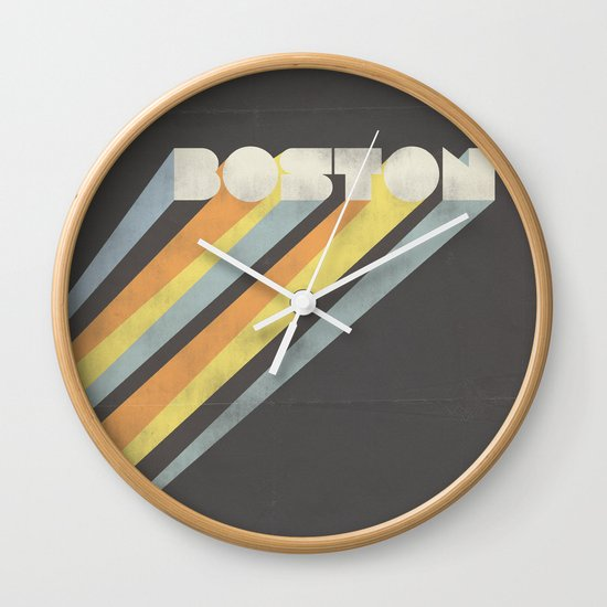 Boston : Resilient Wall Clock