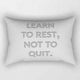 The Secret to Success I Rectangular Pillow