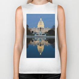 United States Capitol Biker Tank