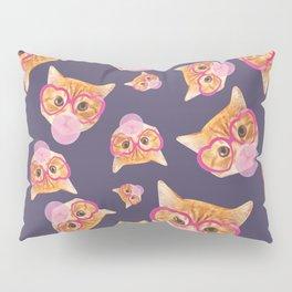 Bubblegum Cat Pillow Sham