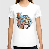 metal gear T-shirts featuring METAL GEAR RICK by Philtomato