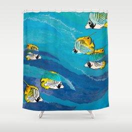 Extraordinary Perception Shower Curtain