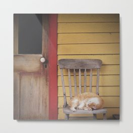 Do Not Disturb Metal Print