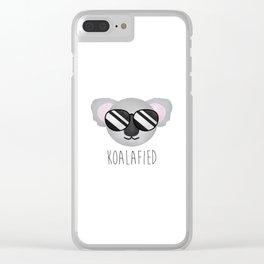 Koalafied Clear iPhone Case