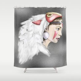 san Shower Curtain
