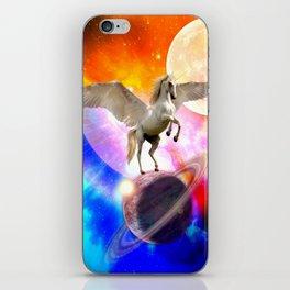 space unicorn. iPhone Skin