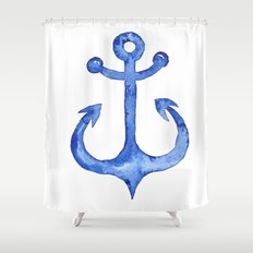 Dreaming of nautical adventure Shower Curtain