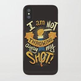 My Shot iPhone Case