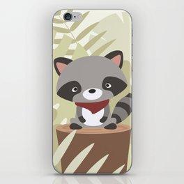 little raccoon iPhone Skin