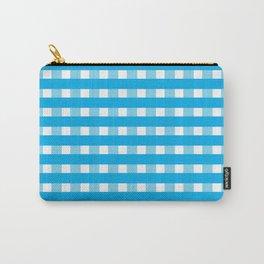 Blue checks Carry-All Pouch