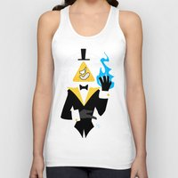 bill cipher Tank Tops featuring Cipher by Palolabg