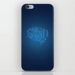 Electric brain iPhone Skin