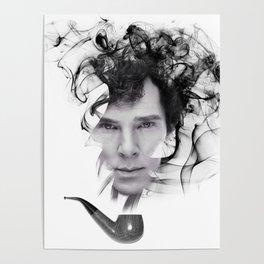 Sherlock's Pipe Poster