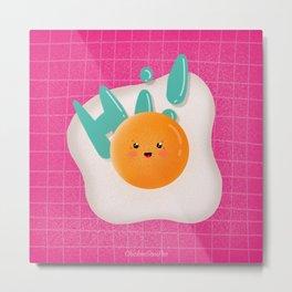 Cute Little Egg Metal Print